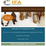 Safe Handling of Wild Game Meat Course on Saturday 11th of September 2021